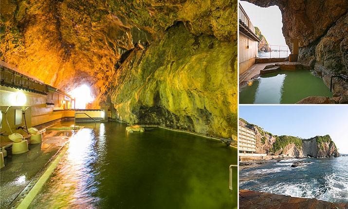 玄武洞(げんぶどう) 天然洞窟風呂